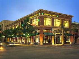 Vejen til lykke-stiftelsen i Glendale, Californien.